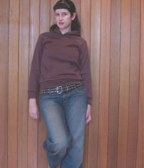 0501 KARINA Raglan sleeved hoodie sewing pattern